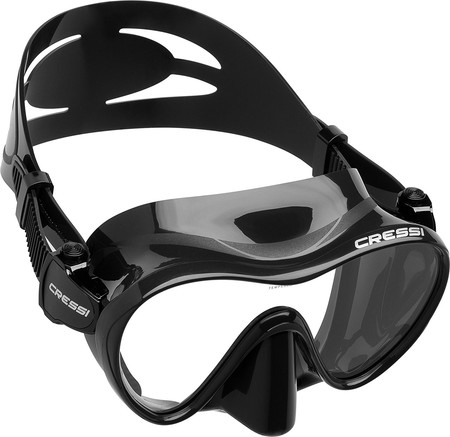 Sumérgete en este descuento del 50% en las gafas de buceo sin marco Cressi F1 por 19,99 euros en Amazon