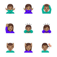 Fleksy añade una opción que todo teclado tendría que llevar: seleccionar por defecto el tono de piel de los emojis
