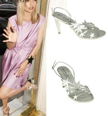 Un clon de las sandalias con estrellas de Yves Saint Laurent