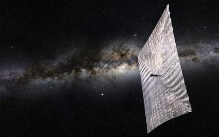 El 'velero solar' de Carl Sagan está cerca de volverse una realidad