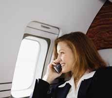 Se permite el uso de móviles en los aviones