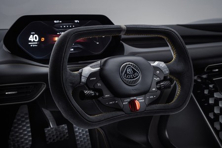 Lotus Evija Steering Wheel