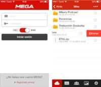 MEGA ya está en iOS