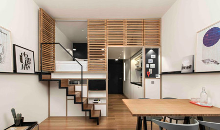 micro apartamento zoku loft todo lo que necesitas en 24 17 best ideas about tiny studio apartments on pinterest