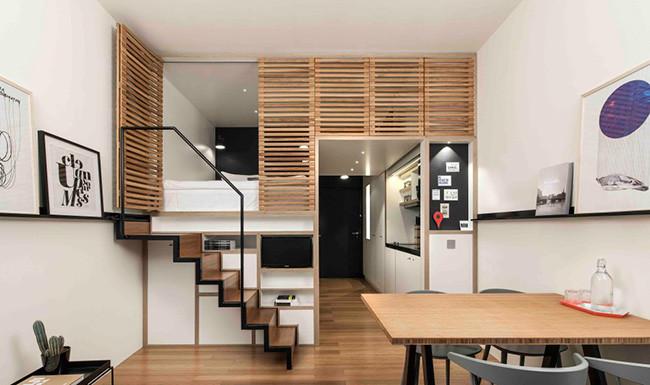 Magazine loft for Loft de 50 metros cuadrados