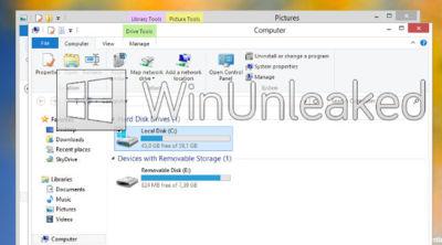 Windows 8 sin Aero Glass, más detalles