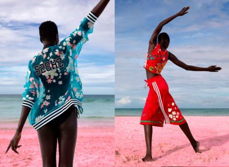 Adidas Originals Pink Beach Pharrell Mujer 2