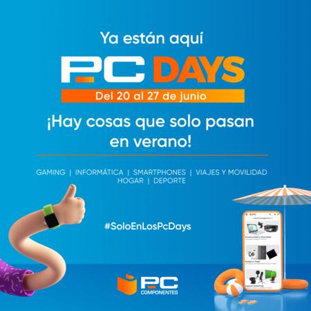 Conéctate al verano: ya están aquí los PcDays de PcComponentes con ofertas exclusivas y sorteos en directo