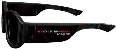 Monster Vision Max 3D, las primeras gafas 3D compatibles con todos los TV