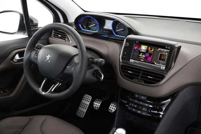 Peugeot 2008, vista interior