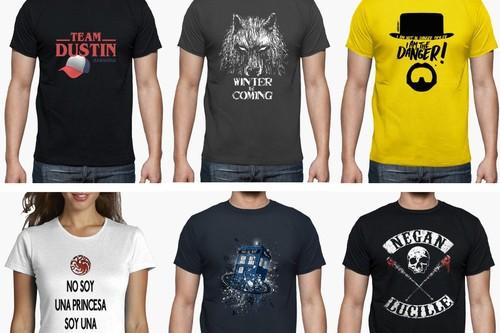 Cupón de descuento del 23% en La Tostadora: especial camisetas de series populares como Juego de Tronos o Stranger Things