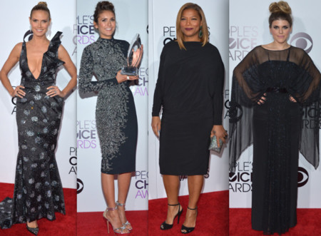 People choice awards 2014 alfombra roja negro