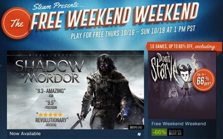 Steam Free Weekend