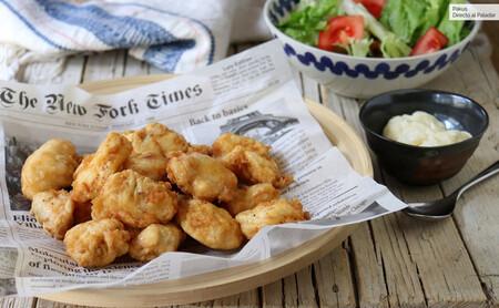 Receta de pixín o fritos de rape, la mejor fritura de pescado de Asturias