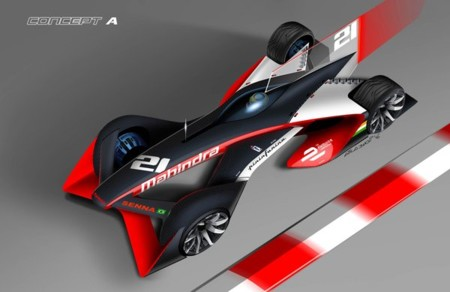 Mahindra Racing y Pininfarina nos muestran los posibles Fórmula E del futuro