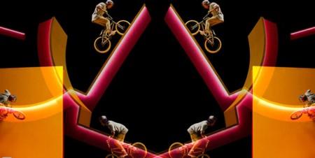 Ángulos, perspectivas, surrealismo y acrobacias imposibles en BMX en este alucinante vídeo