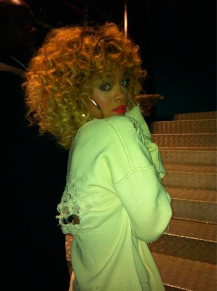 Rihanna en los Brit Awards en Twitter