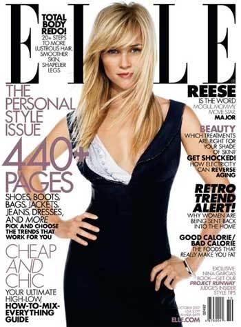 Reese Whiterspoon en Elle