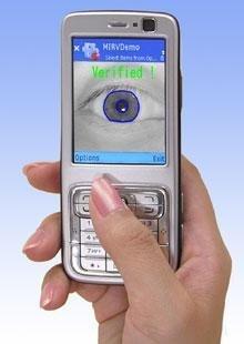 Reconocimiento de iris con el móvil