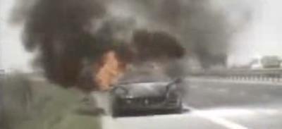 Los Ferrari 612 Scaglietti también arden