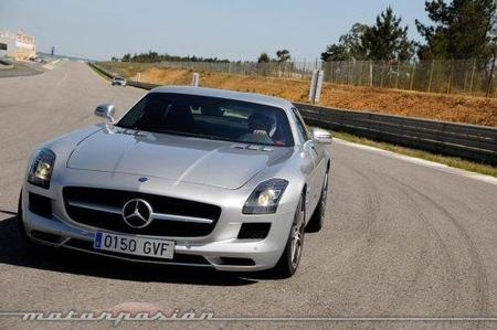 Mercedes SLS AMG, prueba en el Circuito Monteblanco (parte 4)