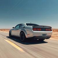 Sin distracciones: Simplemente disfruta del Dodge Challenger SRT Hellcat Redeye y su V8 de 808 CV