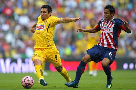Aguilas del América contra Chivas del Guadalajara