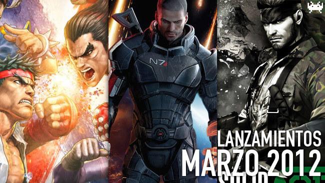 lanzamientos marzo 2012