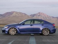 Lexus IS-F, las fotos oficiales