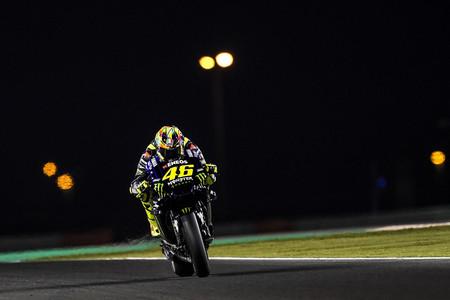 Valentino Rossi Test Catar