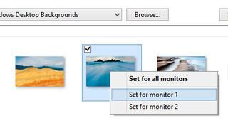 Como escoger varios monitores