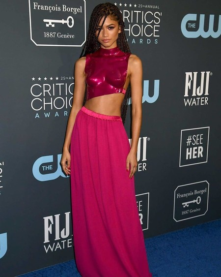 zendaya critics choice 2020