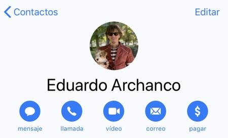 Contacto Con Foto