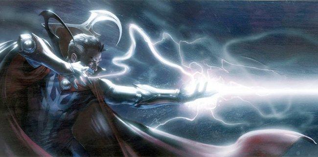 Imagen del 'Doctor Extraño'