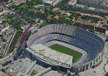 Nokia Maps 3D con planificación de rutas
