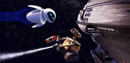 Wall-e en el espacio
