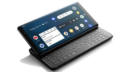 F(x)tec Pro 1: este es el verdadero sucesor de los BlackBerry, un smartphone que esconde su teclado físico QWERTY bajo la pantalla