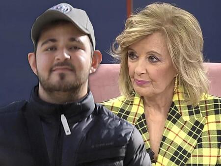 """María Teresa Campos se emociona al recordar su relación con David Flores (el hijo de Rocío Carrasco): """"Es irrecuperable si tiene que seguir con ese sinvergüenza"""""""
