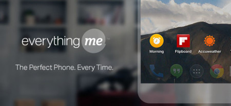 EverythingMe Launcher para Android sale de su versión Beta