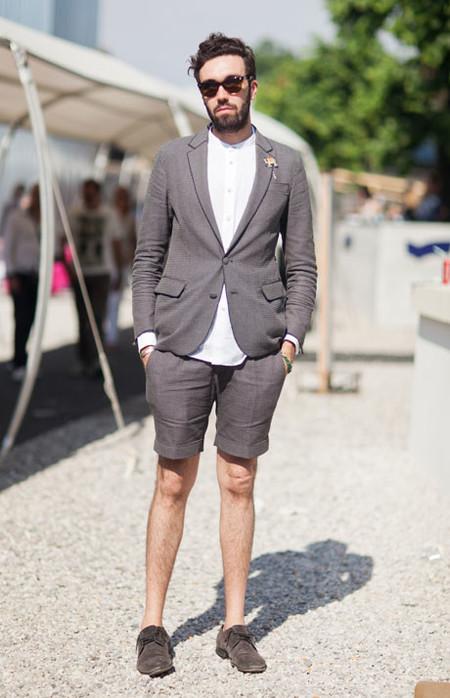 El Mejor Street Style De La Semana Combo Blazer Shors Bermudas Trendencias Hombre 11