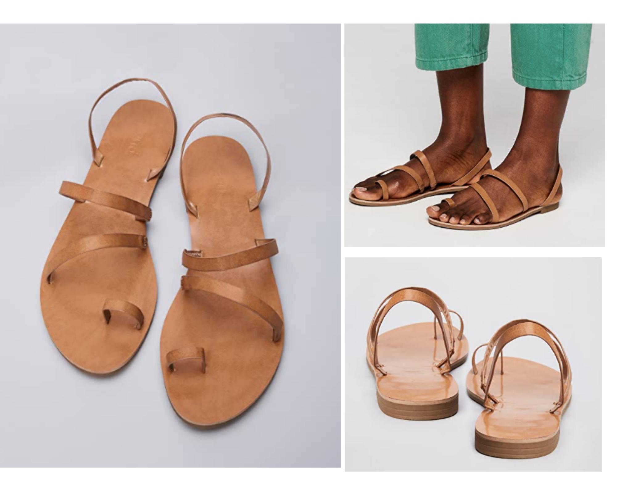Marca Amazon - find. Mujer Sandalias de Gladiador