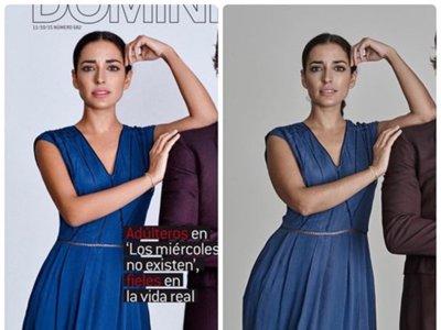 """Inma Cuesta arremete contra los abusos del Photoshop: """"verte y no reconocerte"""""""