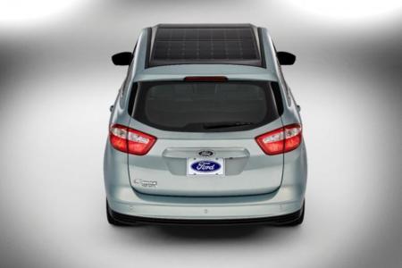 Ford C-Max Solar: un híbrido que recurre al sol