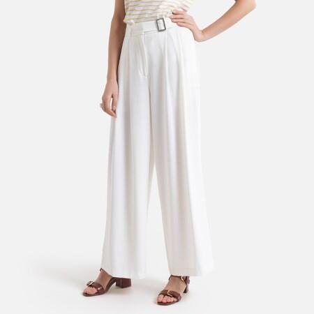Pantalón extraancho con cintura