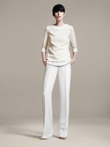 Catálogo Zara de moda Primavera-Verano 2011 blanco