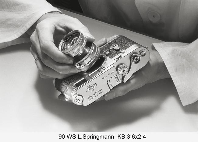 Lisel Springmann Detalle Del Proceso De Construccio N De La Ca Mara Leica I C Leica Camera Ag Wetzlar