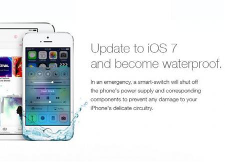 iOS 7 no hace a tus dispositivos a prueba de agua