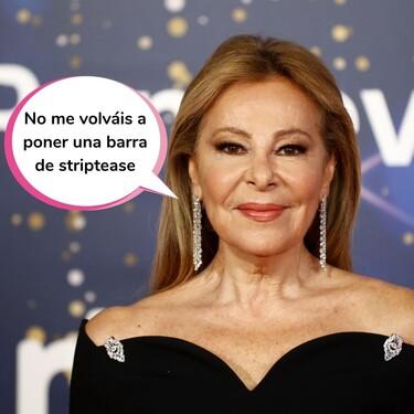 Ana Obregón se prepara para empezar a rodar una nueva serie a partir de primavera