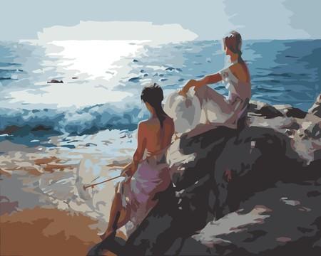 Las Hermanas Miran El Mar