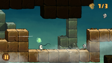 Blown Away: First Try, una acertada combinación de plataformas y controles táctiles
